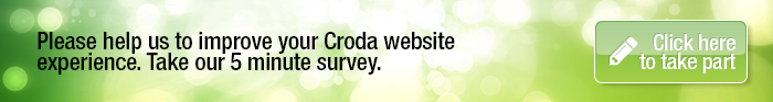 Please help us to improve your Croda website experience. Take our 5 minute survey.
